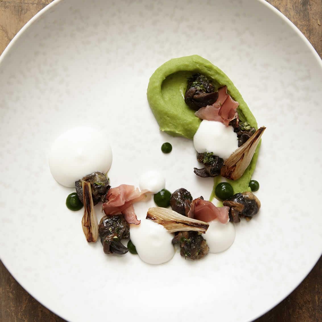 Plat d'escargots, L'AO hôtel restaurant L'Aigle d'Or